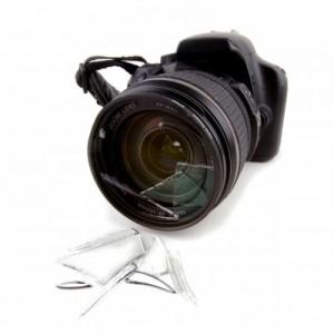 Dropped Camera