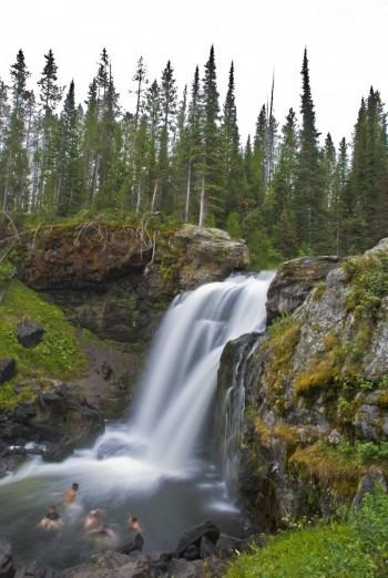 waterfall motion blur